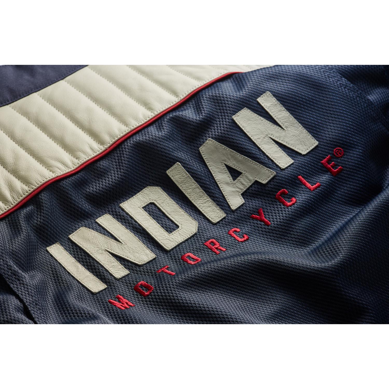 miniature 10 - Indian Motorcycle Men's Mesh Arizona Jacket, Blue