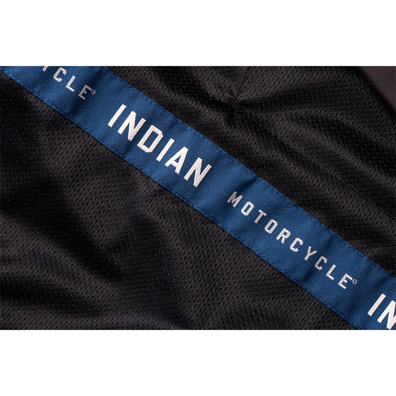 miniature 14 - Indian Motorcycle Men's Mesh Arizona Jacket, Blue