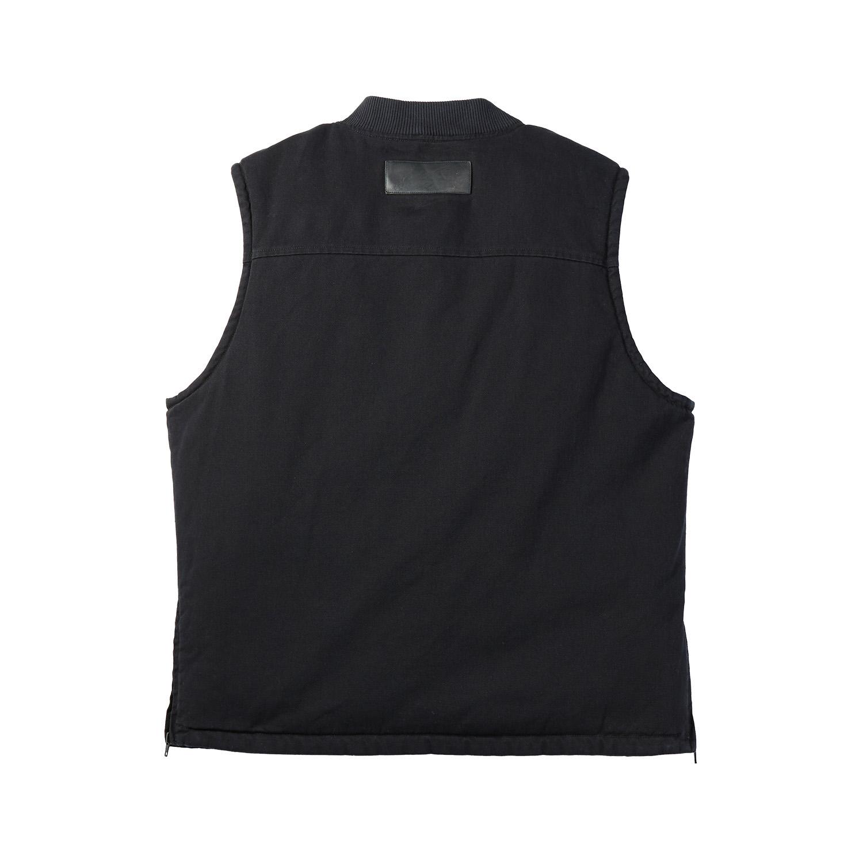 miniature 12 - Indian Motorcycle Men's Textile Hudson Vest, Black