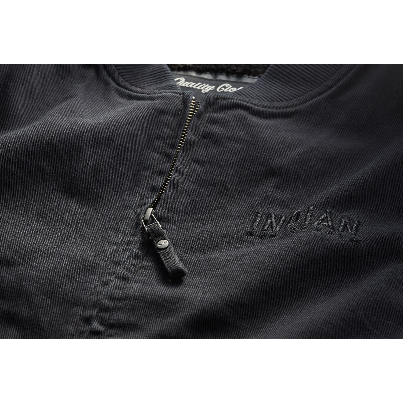 miniature 18 - Indian Motorcycle Men's Textile Hudson Vest, Black