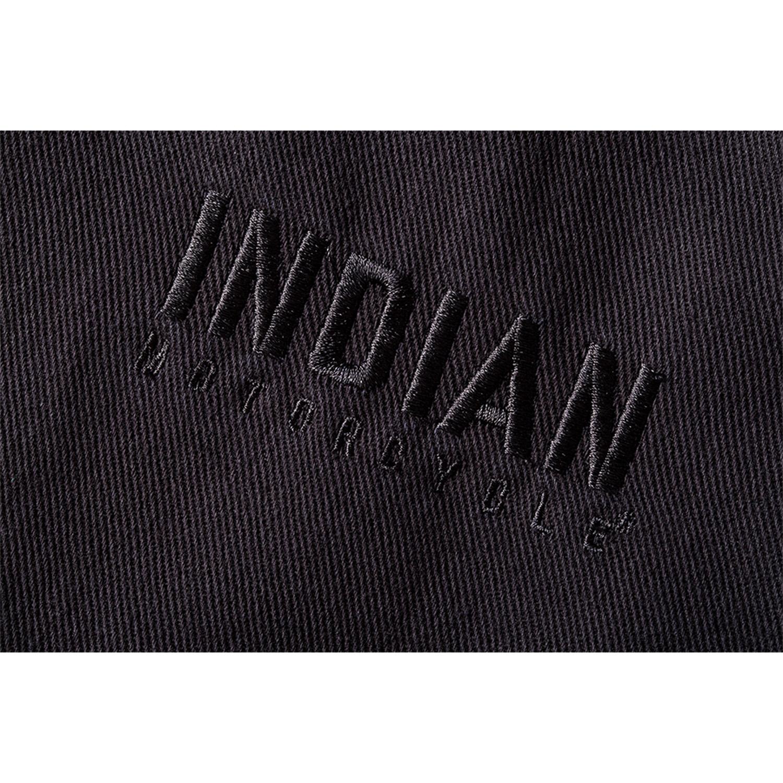 miniature 17 - Indian Motorcycle Men's Textile Hudson Vest, Black