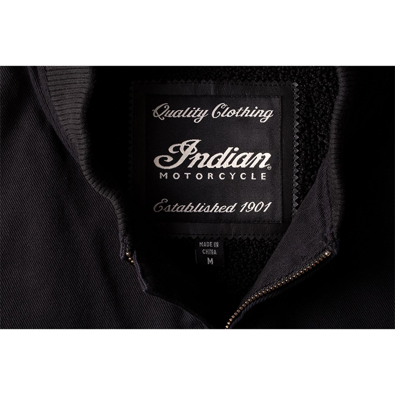 miniature 14 - Indian Motorcycle Men's Textile Hudson Vest, Black