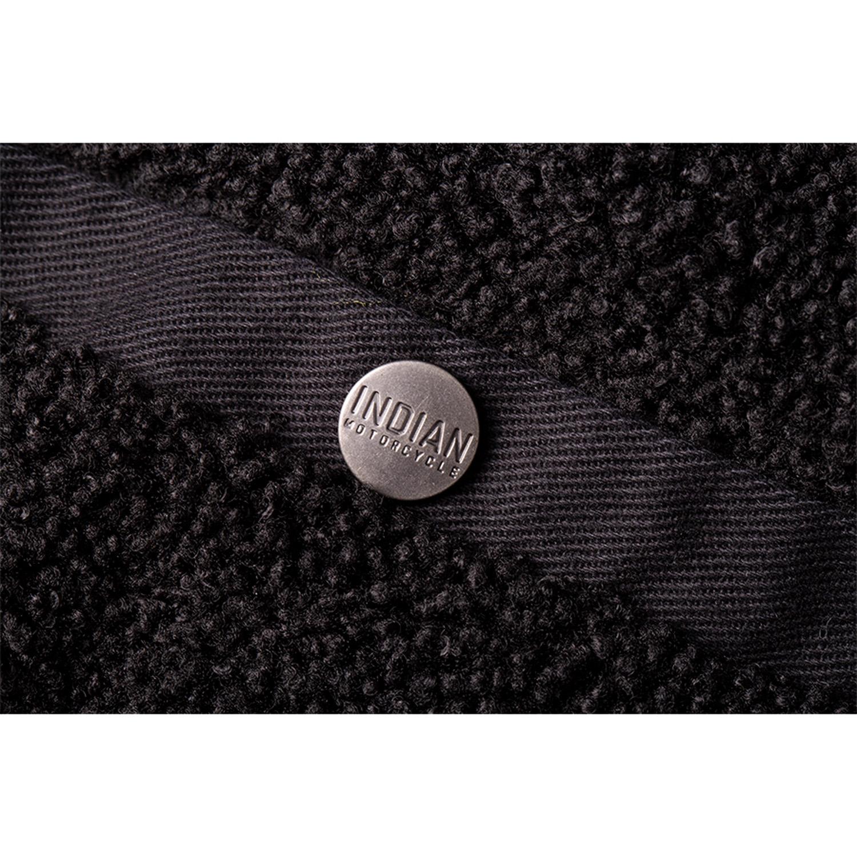 miniature 19 - Indian Motorcycle Men's Textile Hudson Vest, Black