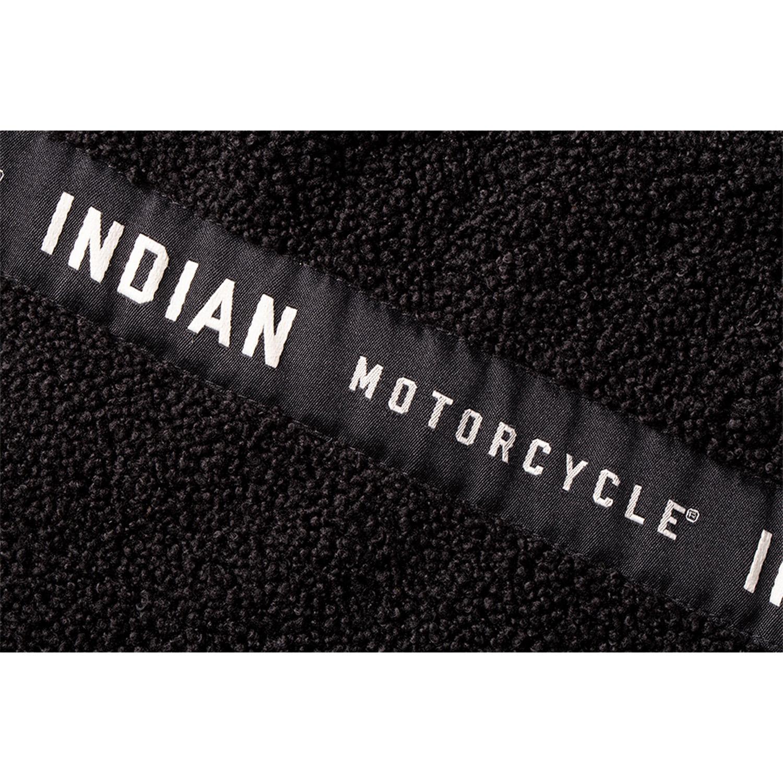 miniature 20 - Indian Motorcycle Men's Textile Hudson Vest, Black