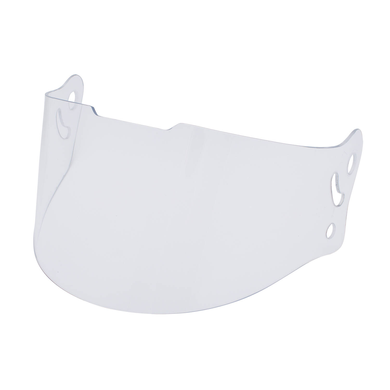 Full Face Retro Helmet Visor, Clear