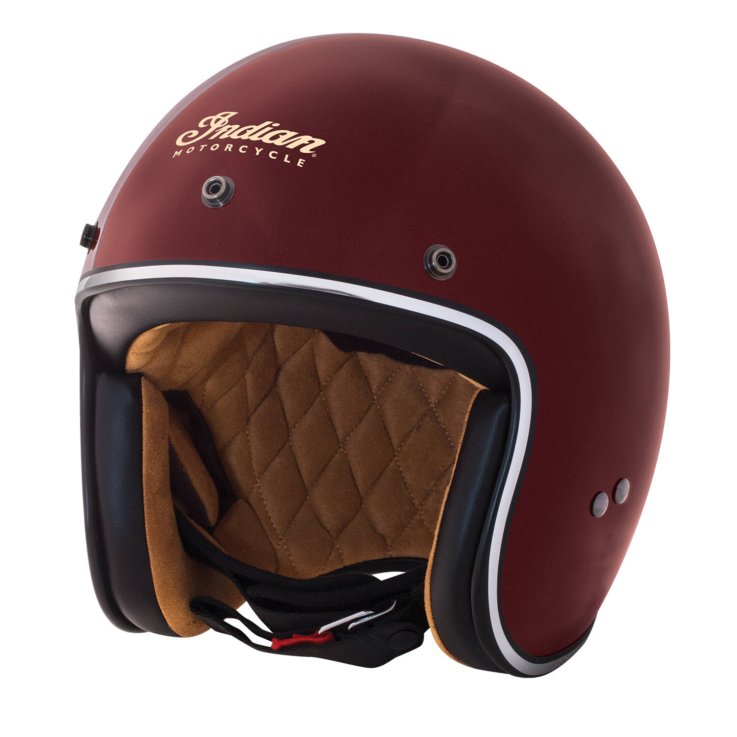 save up to 80% first look hot new products Red Retro Open Face Helmet by Indian Motorcycle®