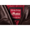 Men's Leather Phoenix Riding Jacket with Removable Lining, Brown - Image 8 of 10