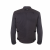 Men's Waxed Cotton Sacramento Riding Jacket with Removable Lining, Black - Image 2 of 7