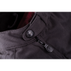 Men's Waxed Cotton Sacramento Riding Jacket with Removable Lining, Black - Image 6 of 7
