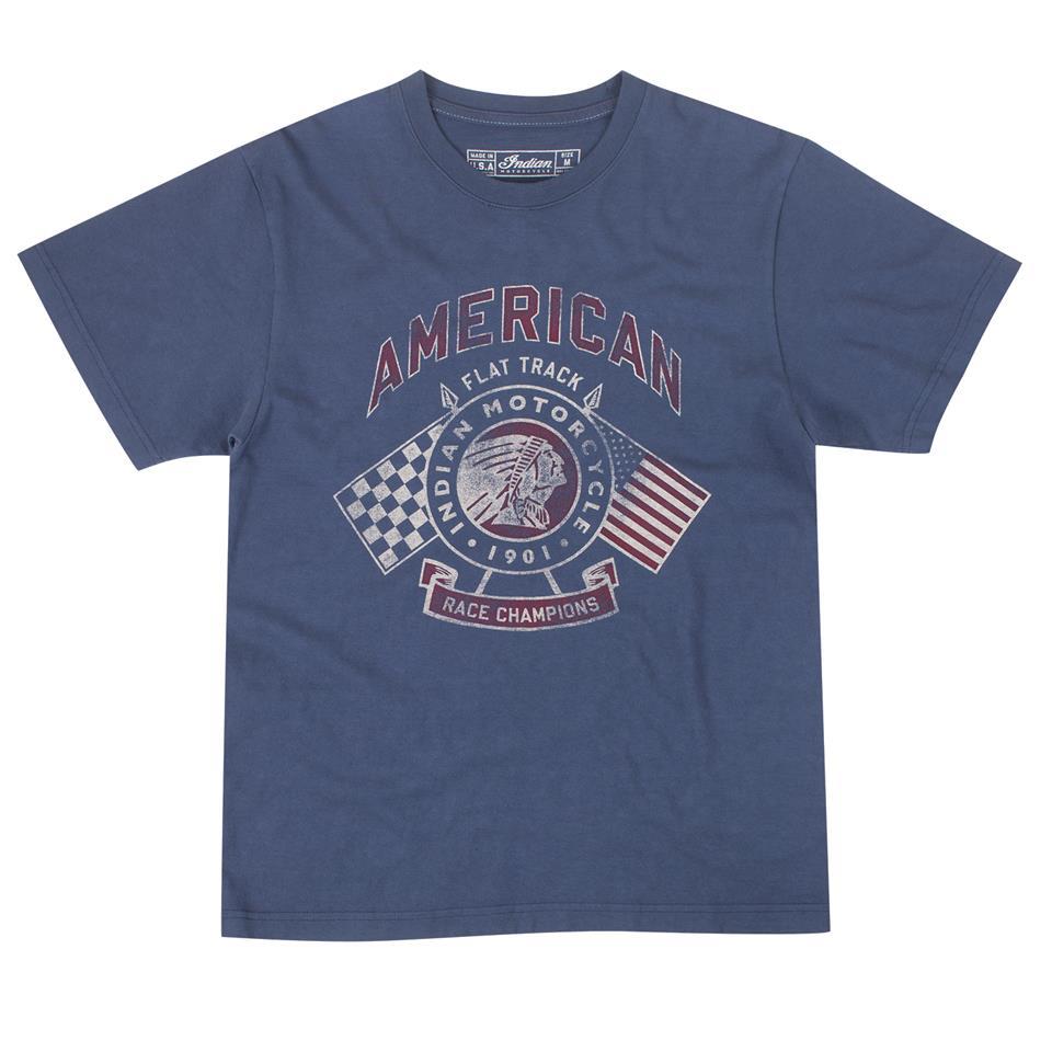 Men's IMC Flags T-Shirt, Navy