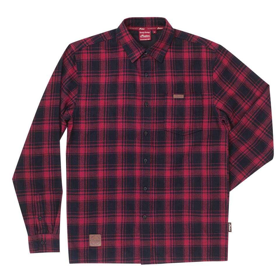 Men's Plaid Shirt, Red/Black