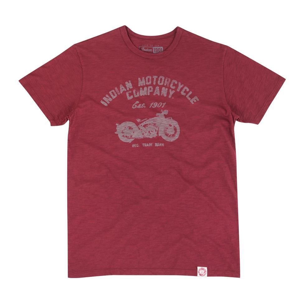 Men's 1901 Vintage Bike T-Shirt, Port