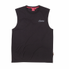 Men's Sleeveless Performance Riding T-Shirt with UV Protection, Black - Image 1 of 2