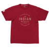 Men's Icon Round Logo T-Shirt, Marl Red - Image 1 of 2