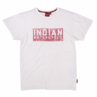 Men's Red Block Logo T-Shirt, White