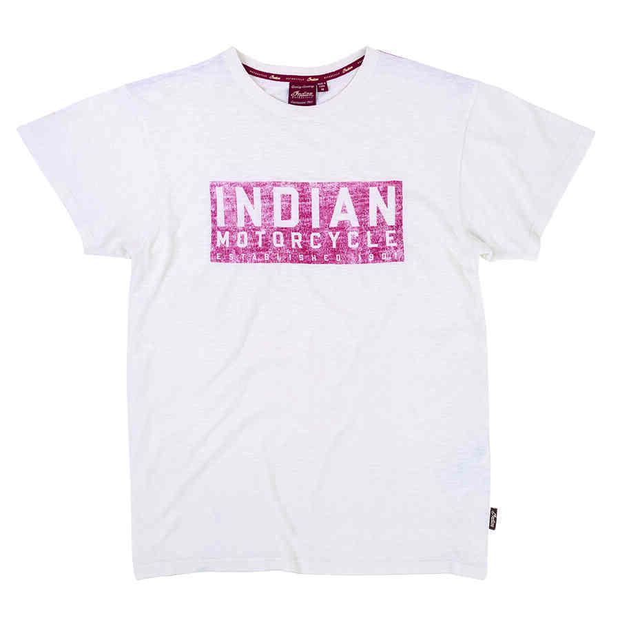 Men's Red Block Logo T-Shirt, White