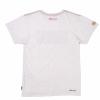Men's Red Block Logo T-Shirt, White - Image 2 of 2