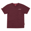 Men's Pocket T-Shirt with Heritage Logo, Port - Image 1 of 2