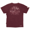 Men's Pocket T-Shirt with Heritage Logo, Port - Image 2 of 2