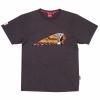 Men's Color Headdress T-Shirt, Black - Image 1 de 2