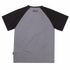 Men's Short-Sleeve Performance Riding T-Shirt with UV Protection, Gray - Image 2 of 2