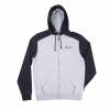 Men's Full-Zip Hoodie Sweatshirt with Icon Logo, Black/Gray - Image 1 of 2