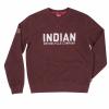 Men's Pull-Over Sweatshirt with Block Logo, Port - Image 1 of 2