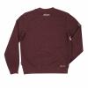 Men's Pull-Over Sweatshirt with Block Logo, Port - Image 2 of 2