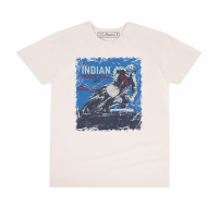 Men's Adventure Graphic T-Shirt, Antique White