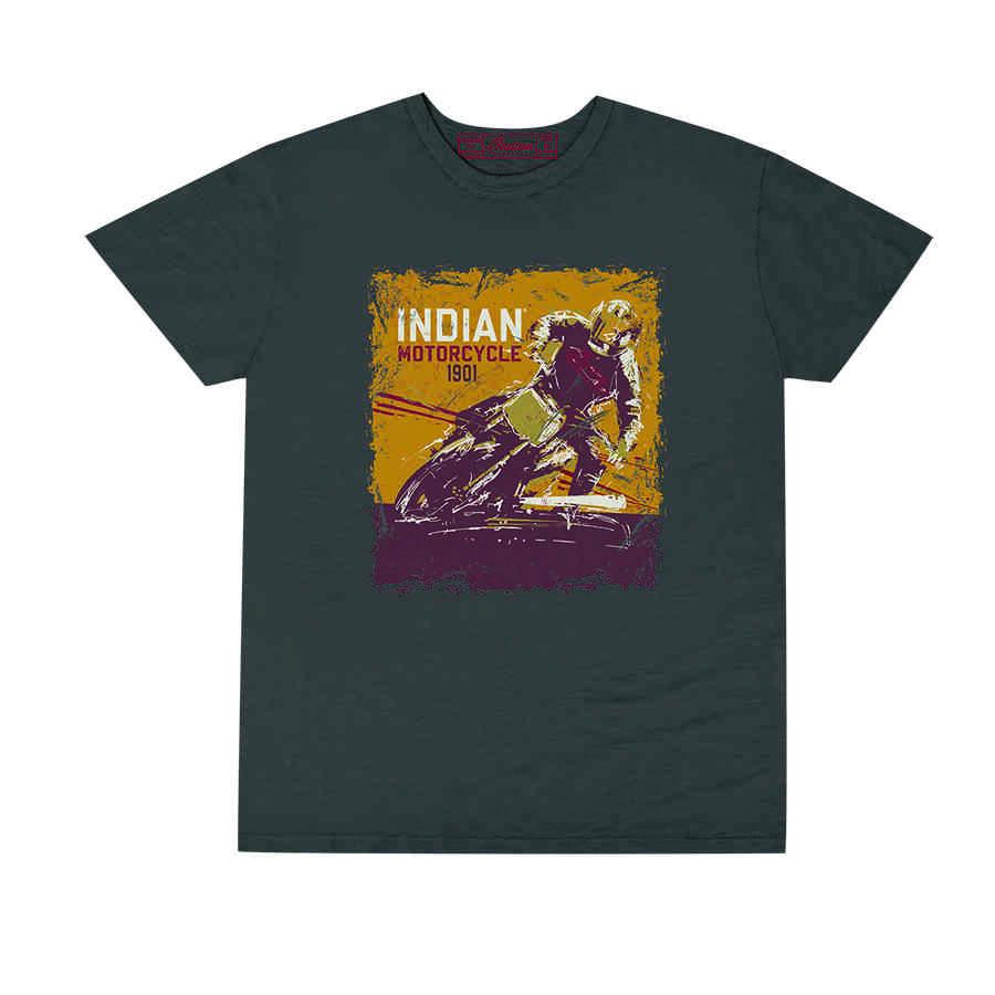 Men's Adventure Graphic T-Shirt, Gray
