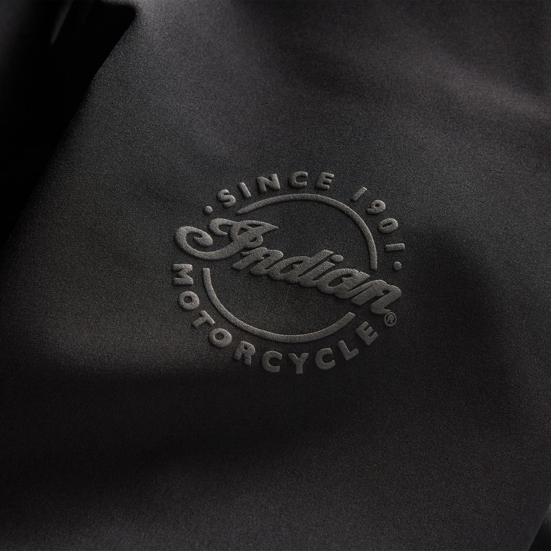 miniature 6 - Indian Motorcycle Men's Casual Softshell Jacket, Black