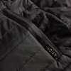 Men's Thermo Zip-Up Undervest, Black - Image 3 of 5