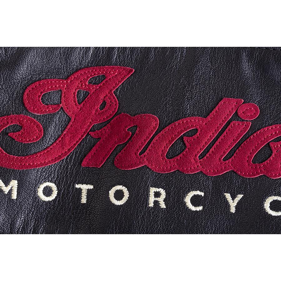 miniature 16 - Indian Motorcycle Women's Leather Charlotte Vest, Black