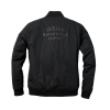 Women's Casual Bomber Jacket, Black - Image 3 of 8