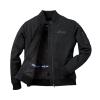 Women's Casual Bomber Jacket, Black - Image 2 of 8
