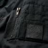 Women's Casual Bomber Jacket, Black - Image 5 of 8