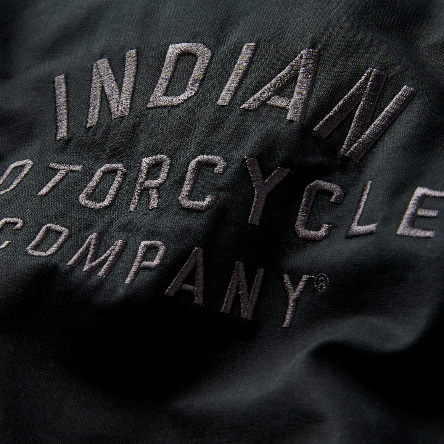 miniature 14 - Indian Motorcycle Women's Casual Bomber Jacket, Black