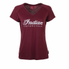 Women's Script Logo Sparkle T-Shirt, Port - Image 1 of 2