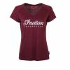 Women's Script Logo Sparkle T-Shirt, Port - Image 1 of 2