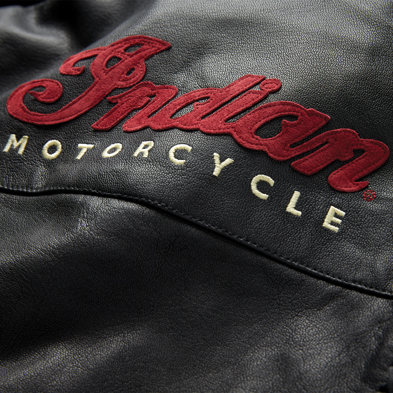 miniature 15 - Indian Motorcycle Women's Leather Charlotte Casual Jacket, Black