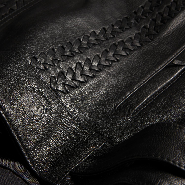miniature 12 - Indian Motorcycle Women's Leather Charlotte Vest, Black