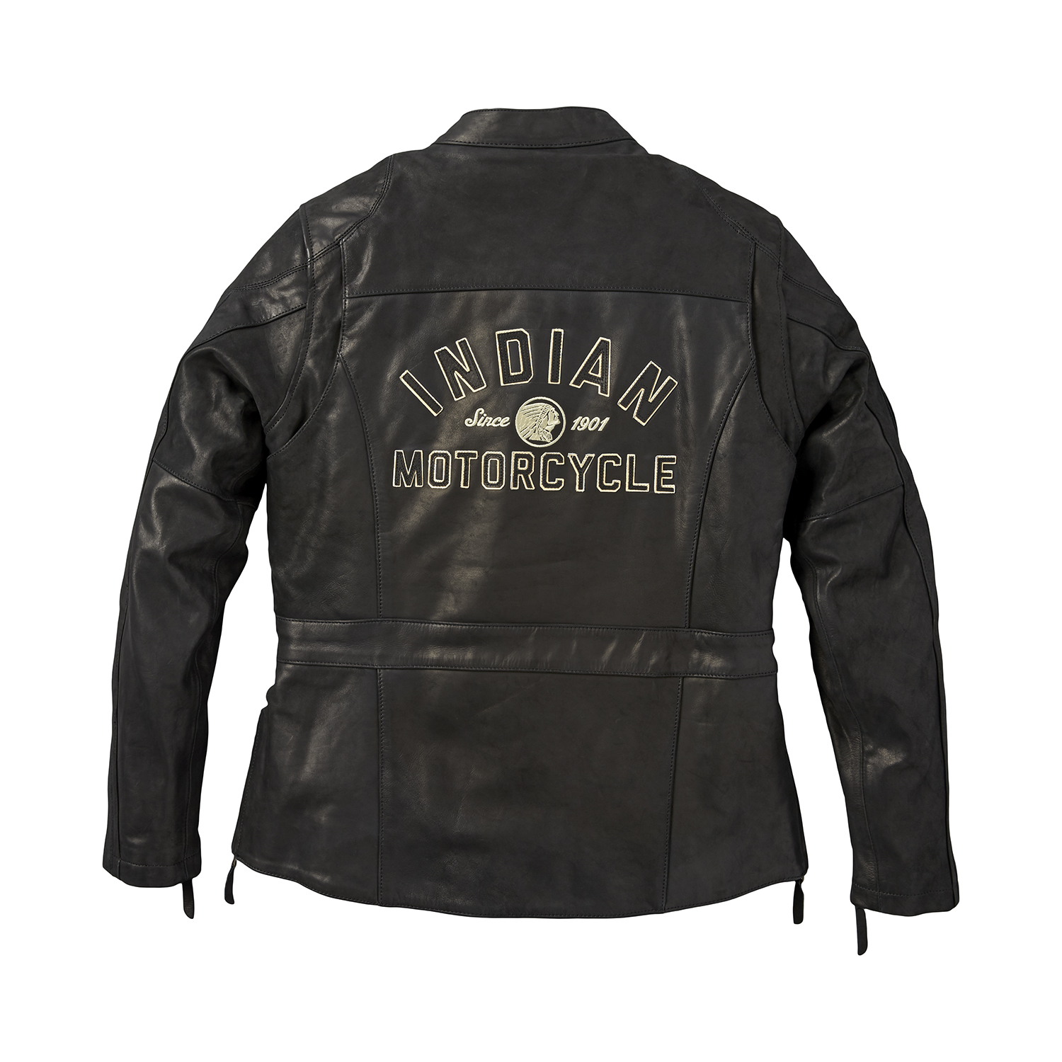 miniature 11 - Indian Motorcycle Women's Leather Effie Casual Jacket with Removable Lining
