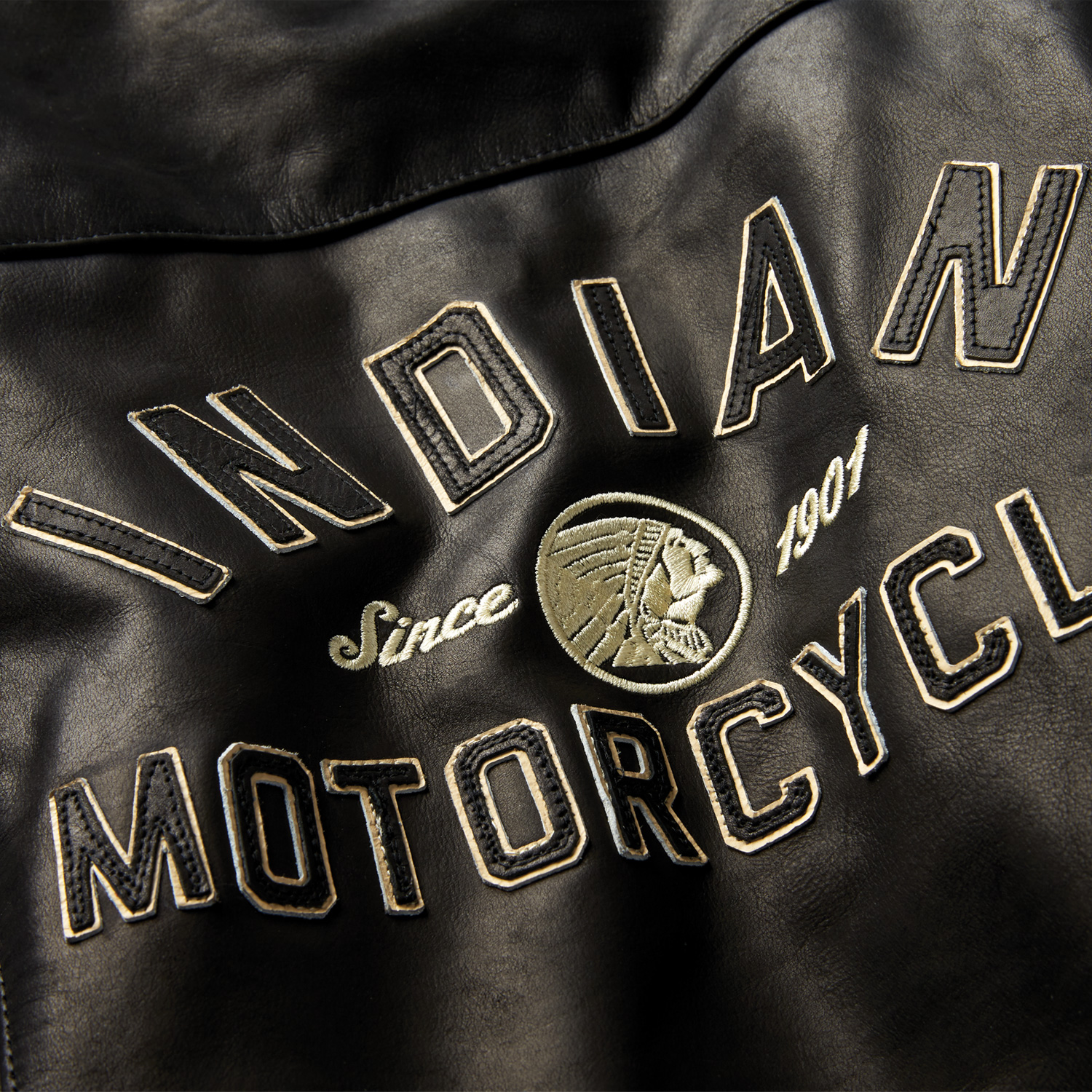 miniature 12 - Indian Motorcycle Women's Leather Effie Casual Jacket with Removable Lining