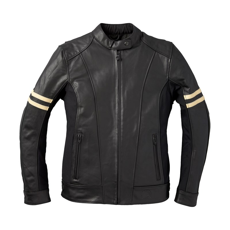 Womens Blake Leather Riding Jacket With Removable Liner -9980