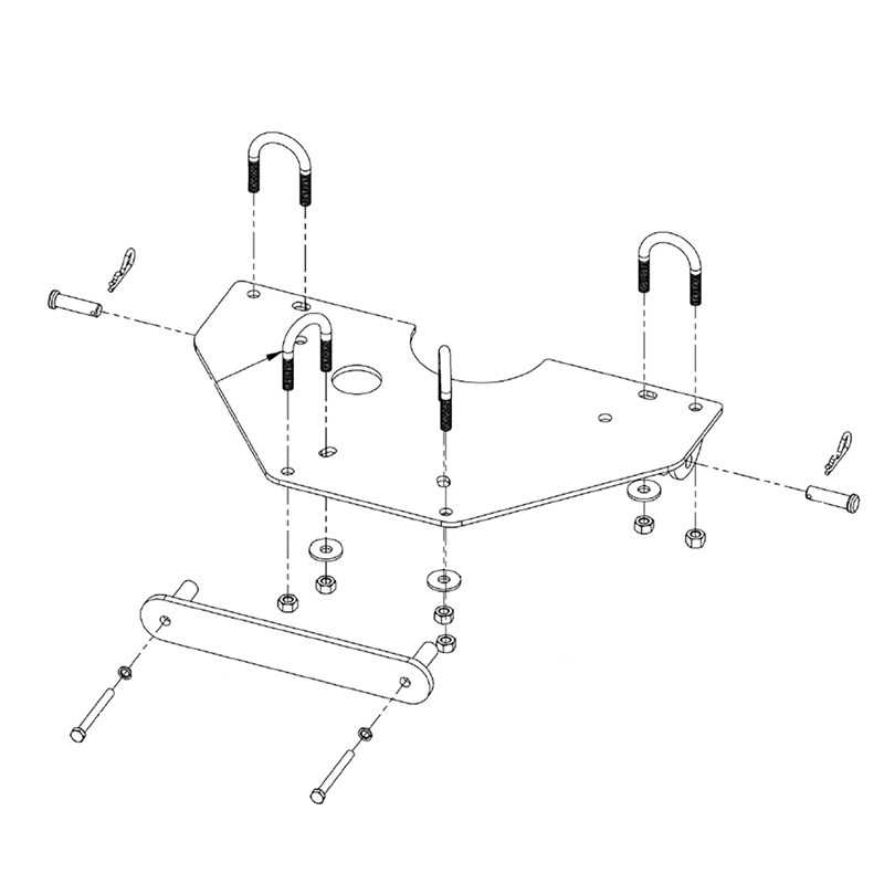 ATV Plow Mount Kit-Honda® Rubicon™ 500(2005-2014)/ Foreman