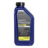 50/50 Premix Extended Life Antifreeze, Snowmobiles and ORV Aluminum Cooling Systems, 2880514, 1 Quart