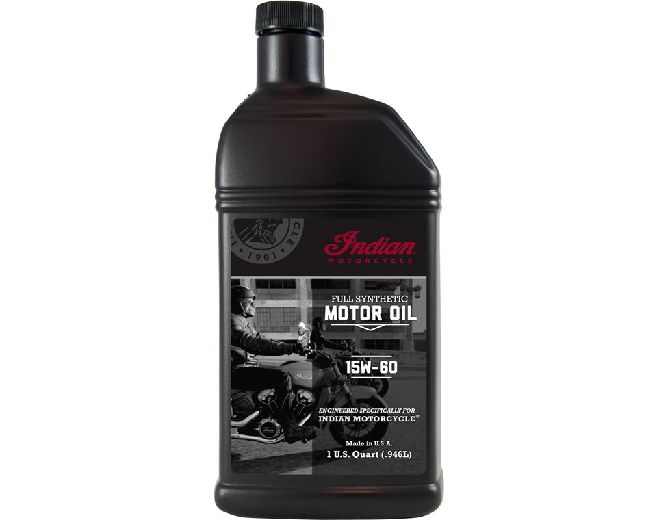 Is Synthetic Oil Better >> Indian Motorcycle® Full Synthetic Motor Oil | Polaris Lubricants