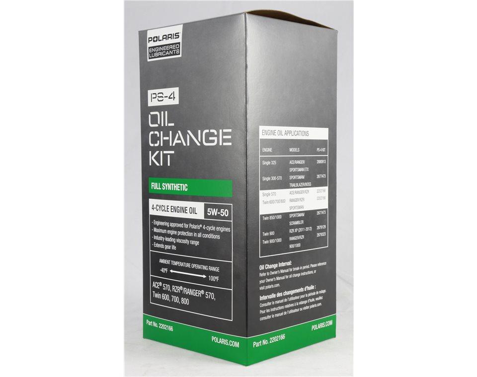 Polaris Engineered™ Oil Change Kit- 2202166