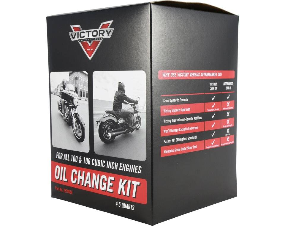 Victory® Motorcycle Oil Change Kit - 2879600