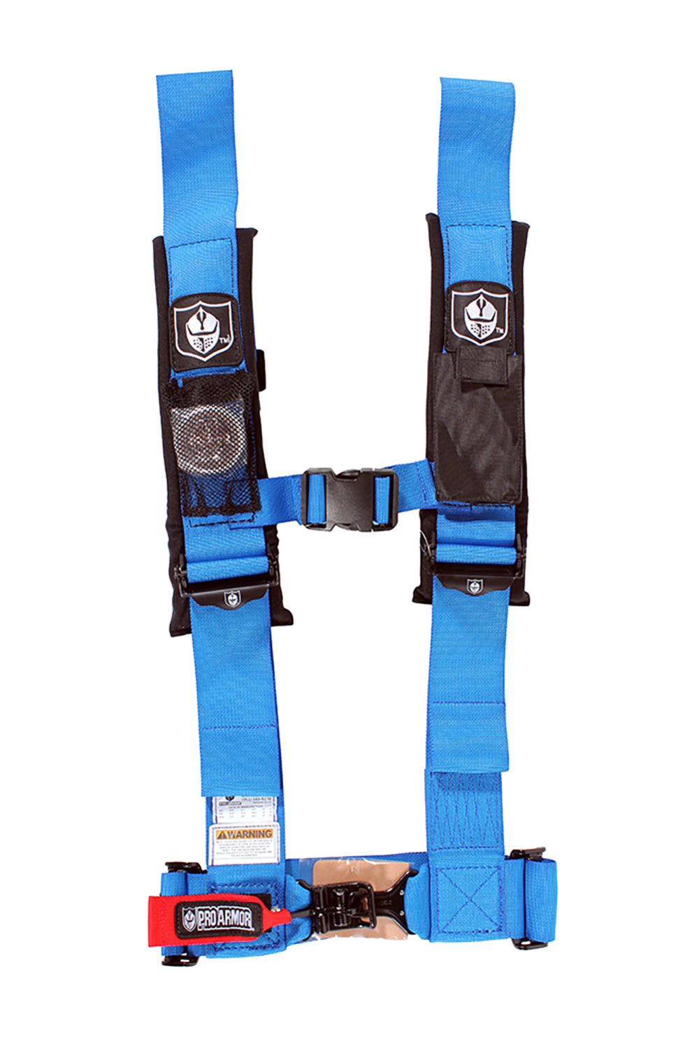 Pro Armor A114230OR Orange 4 Point Harness 3 Straps